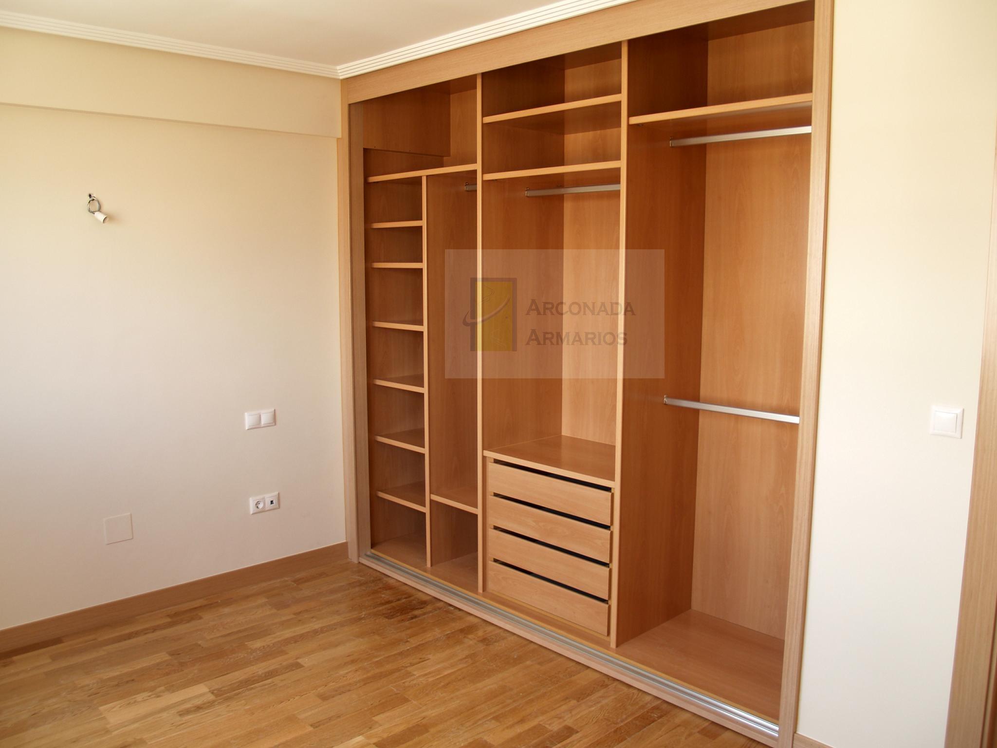 Interiores armarios empotrados 13764 armarios ideas for Armarios empotrados